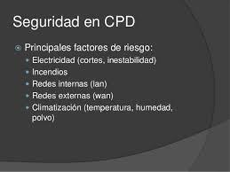 Seguridad CPD